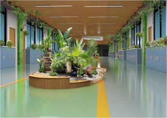 学校走廊大厅文化建设