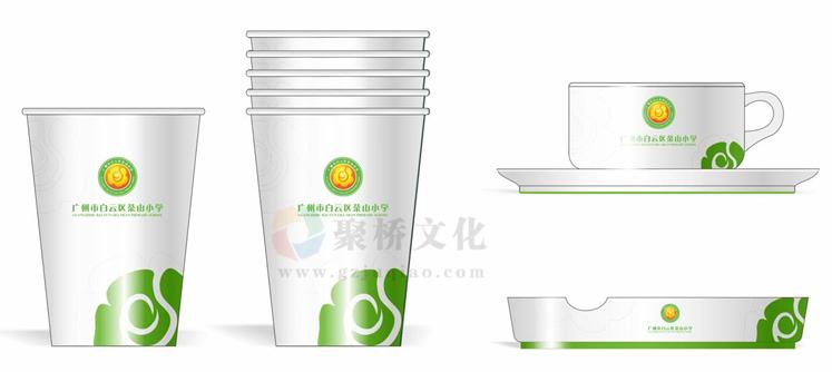 学校vi系统茶杯设计