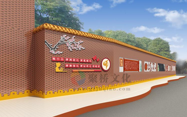 学校校园文化长廊设计公司
