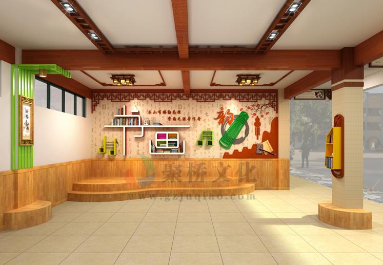 春蕾小学厅廊环境文化设计