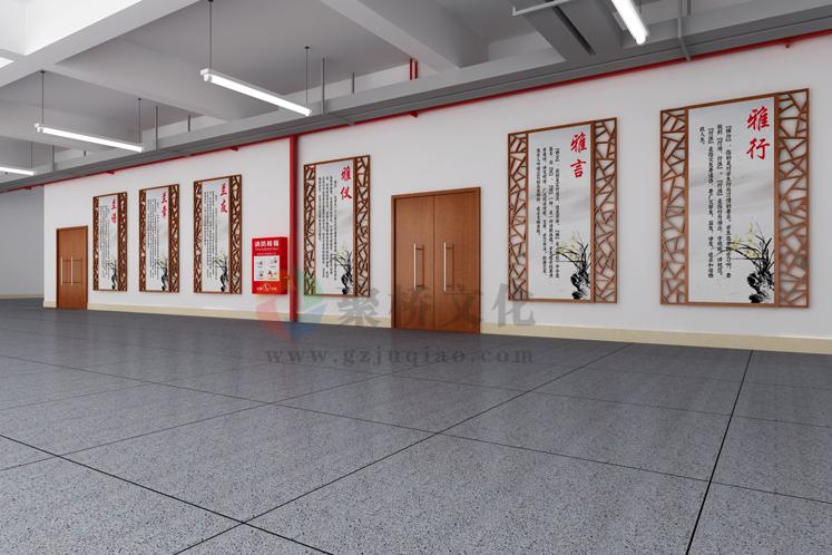 校园文化长廊设计公司