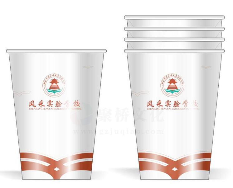 学校杯子设计
