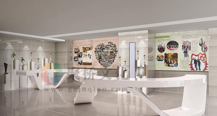 学校功能文化展厅设计