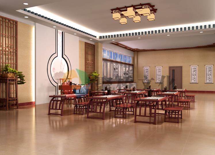 韶关风采实验学校厅廊文化设计