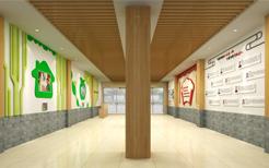 学校亭廊环境文化设计