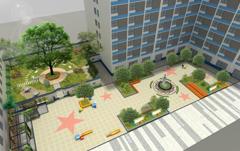 校园广场景观文化设计