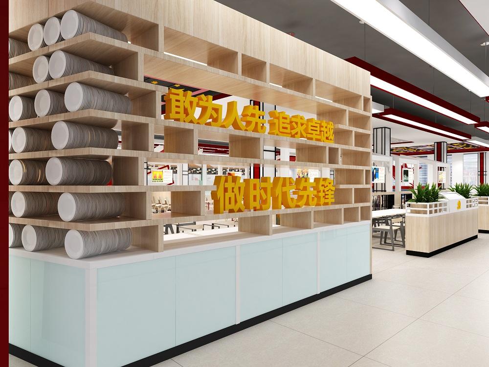 财经大学食堂餐厅文化设计