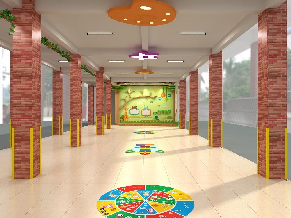 幼儿园架空层文化设计