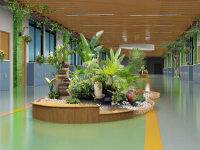 学校大厅环境文化建设