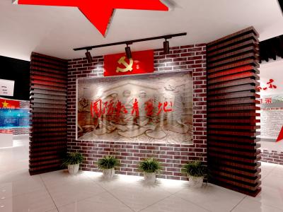 小学国防教育基地展厅文化设计