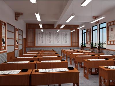 翁源小学书法功能室设计