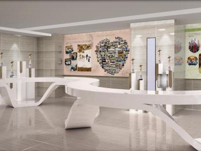 职业院校多功能文化展厅设计