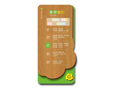 茶山小学标识导视牌设计制作